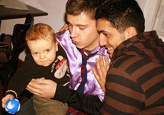 Male Couple With Child-02